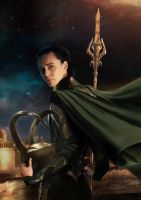 Loki -In My Darkest Hour -A4 ver. by duyeqing