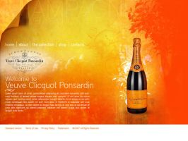 CSS Design for Veuve by pablorenauld