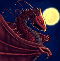 red dragon Colab by Schiraki