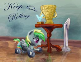 Keep on Rolling by SuperRobotRainbowOwl
