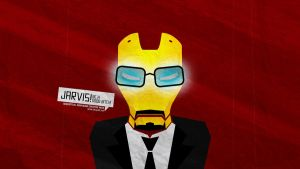 Jarvis! Be a good bitch! by dehog