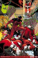 Scarlet Spider Christmas Cheer by ReillyBrown