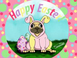 Happy Easter ! by RabidPuppy101