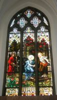 Denver Cathedral Window 17 by Falln-Stock