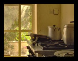 kitchen at noon by chrisdarmanin