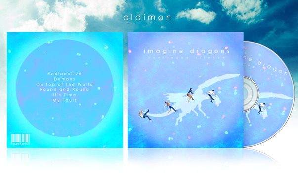 Imagine Dragons: Continued Silence EP by aldimon