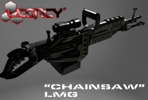 Chainsaw LMG for Legacy by karlanemperor