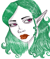 I Just Like Drawing Elven Ears by MissSweet77