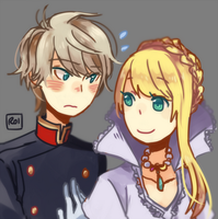 Hime and Slaine by Sandy-kun