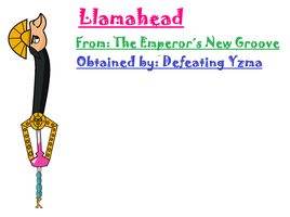 Keyblade Design #7: The Llamahead by OverpoweredClefairy