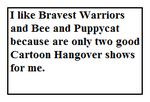 Stamp about Bravest Warriors and Bee and Puppycat by MarcosLucky96