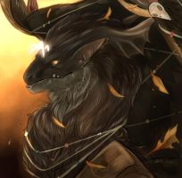 Day 351: Cernunnos by Jadenyte