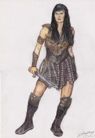 Xena Warrior Princess by stephantom53