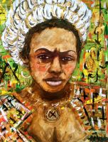 Woman from New Orleans by amoxes