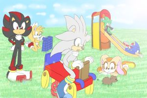 Sonic group picture by xShadilverx