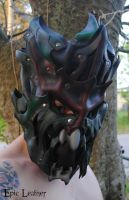 Leather Swamp Lord Full Mask by Epic-Leather