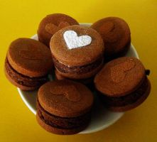 Chocolate Mudcake Cookie Sandwiches by cakecrumbs