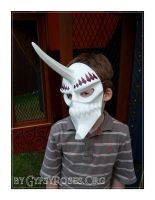 Custom Mask with Horn Finis by che4u
