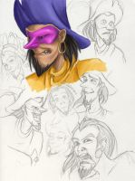 Clopin sketches HoND by Cinniuint