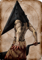 Pyramid Head by WickedJuti
