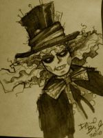 The Mad Hatter Johnny Depp by davidbigler