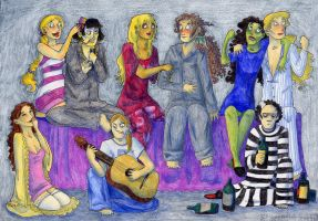 Pajama Party - Ghost Stories by Starlene