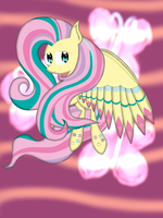 .:Fluttershy Rainbow Power:. by riky9797