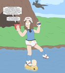 Catching Missingno by Lance-the-young