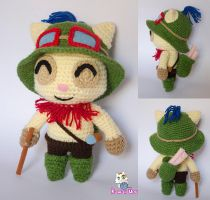 Teemo by misaoorochi