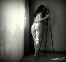 Self portrating by Siannia