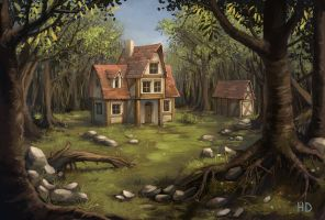 Forest Inn by Maarchal