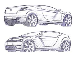 Sketch VW 1 by cananea