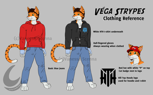 Vega Reference - Clothes by Driphtyr