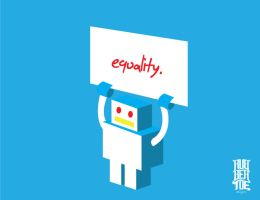 Equality-robot by Rubber-toe