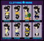 PS Clothing Meme: Beatrice by Lexial-XIII