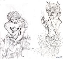 Fire and Earth by evafortuna
