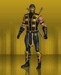 MKX Retexture: SMIG Scorpion by TheG-Flash