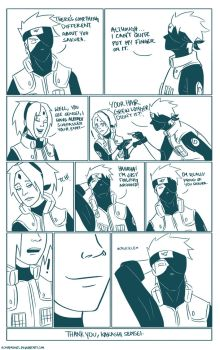 In which kakashi finally addresses sakura's seal by asmafadhel