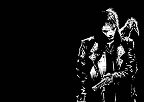 tha crow wallpaper by assassin-10