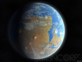 Terraformed Mars by streincorp