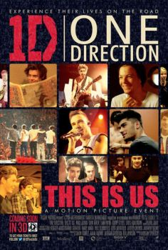 Poster One Direction This Is Us by AiidaQTinii