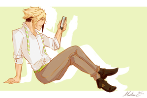 Haikyuu-Ken || Guess Who's Late by Mishii-C