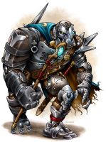 Warforged Sorcerer by D-MAC