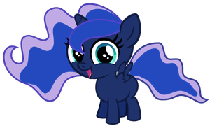 Little Filly Luna by Magister39