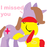 I missed you! Sister and Star Winckle by Fluttershyart8884