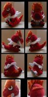 Tyrantrum Plush by Ashayx