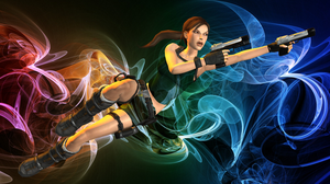 Abstract Swirly Lara Wallpaper by carbint