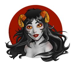 Aradia Bust by rogue-valkyrie