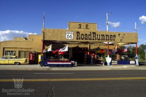 Road Runner - Route 66 by DecepticonSeeker