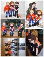 The Crocheted: Mom's Kids - Action Shots by janey-in-a-bottle